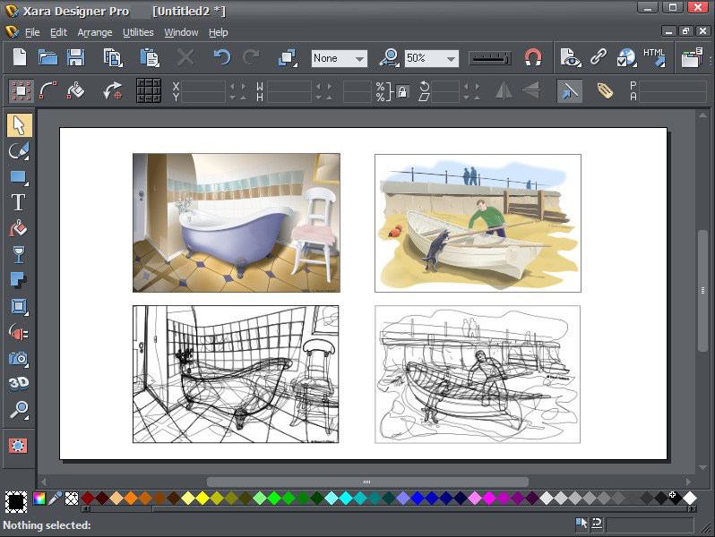 Xara Designer Pro windows