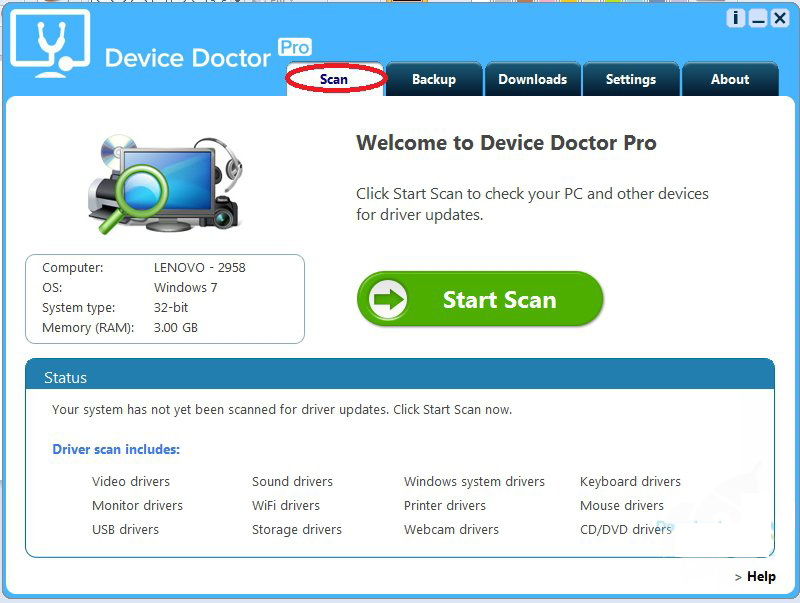 Device Doctor Pro windows