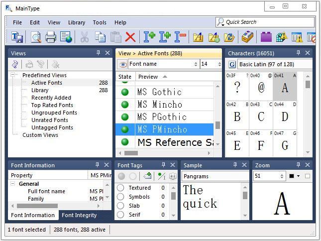 High-Logic MainType windows