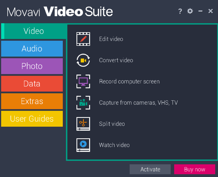 Movavi Video Suite windows