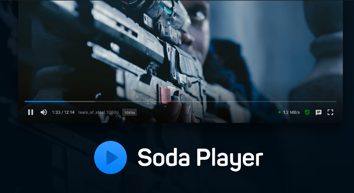 Soda Player windows