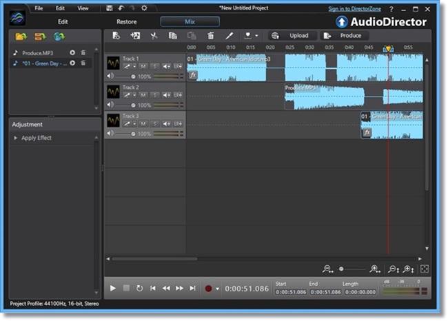 CyberLink AudioDirector windows