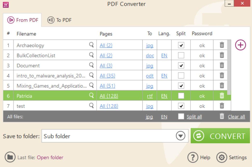 Icecream PDF Converter windows