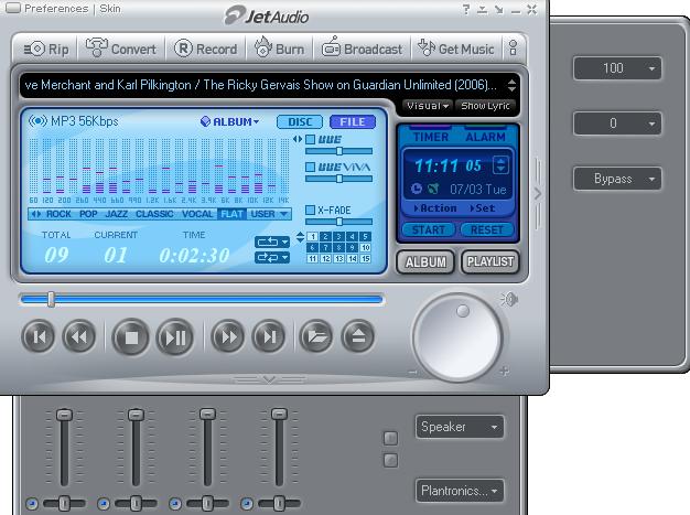 JetAudio Plus windows
