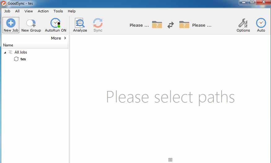 GoodSync Enterprise windows