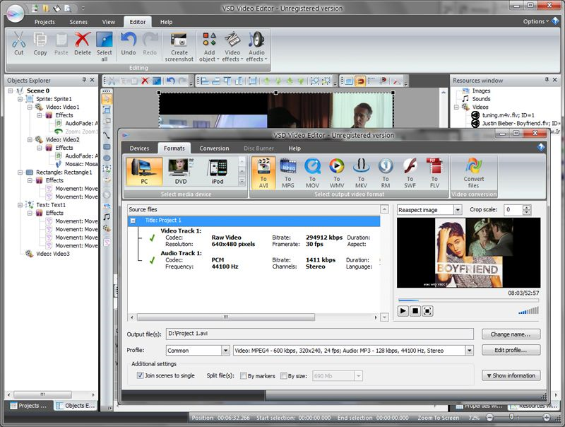 VSDC Free Video Editor windows