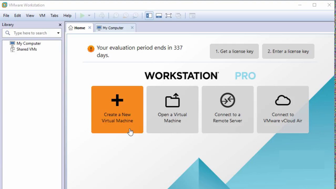 VMware Workstation Pro windows