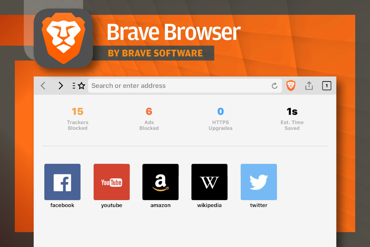 Brave Browser windows
