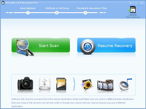 Micro SD Card Recovery Pro windows