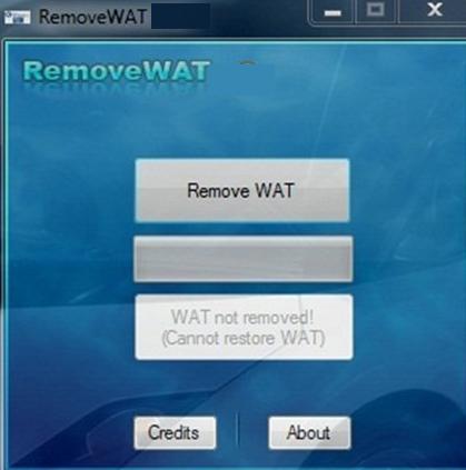 RemoveWAT windows