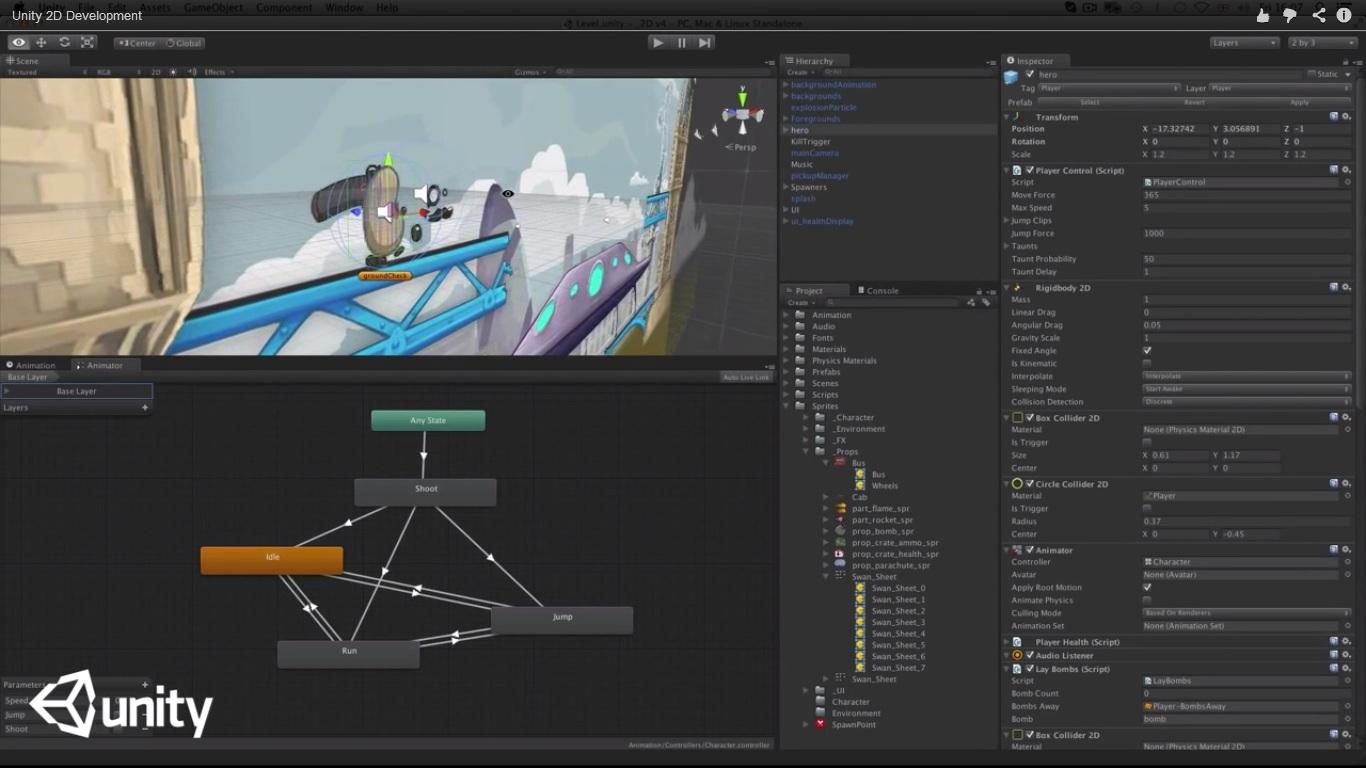 Unity Pro windows