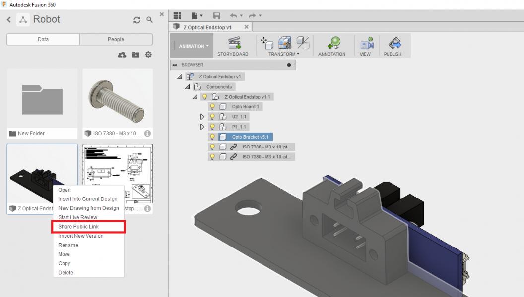 Autodesk Fusion windows